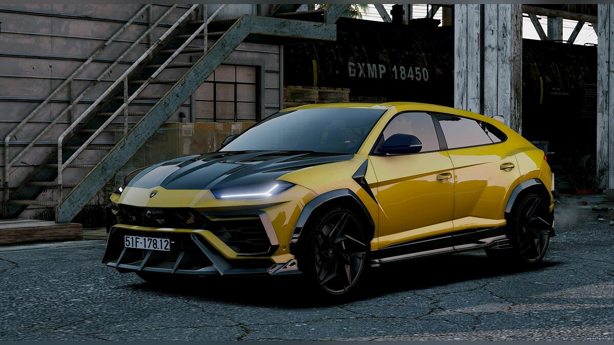 Машина Lamborghini Lamborghini Urus TopCar Design 2019 [Add-On] 1.1 для GTA 5
