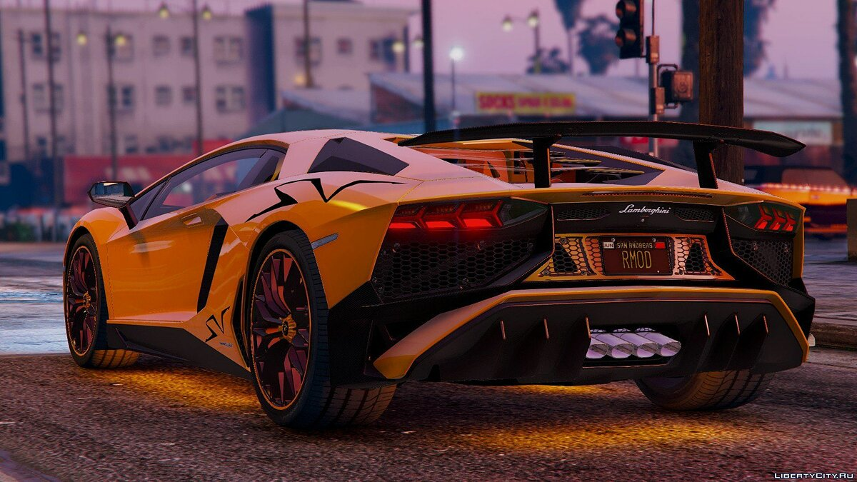 Lamborghini Aventador LP 750-4 SV 2015 [Add-On] для GTA 5 - скриншот #2