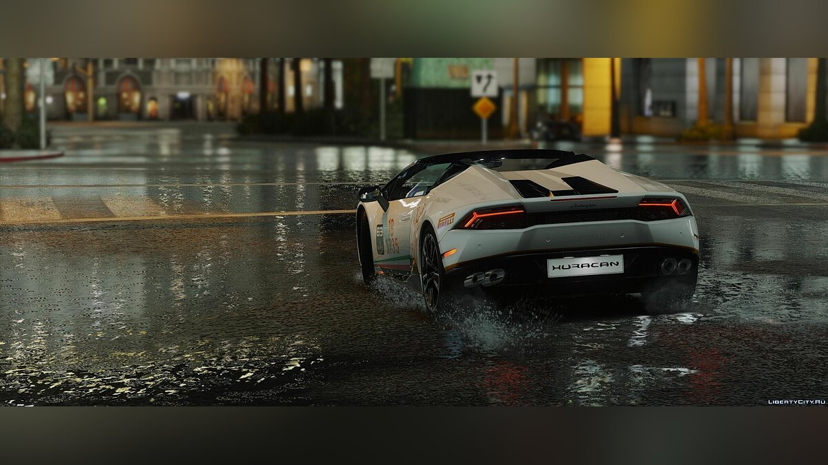 2017 Lamborghini Huracan Spyder [Add-On | Wipers] 1.1 для GTA 5 - скриншот #6