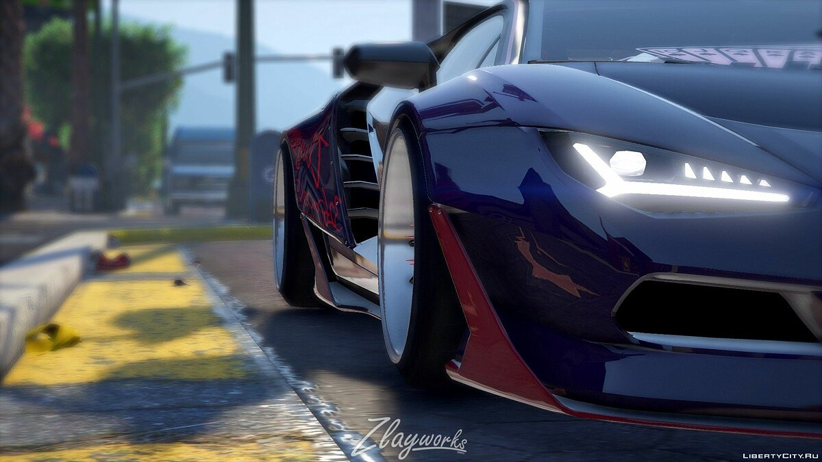 "Zlayworks Lamborghini ""Zentenario"" [Add-On / Replace] 1.0 для GTA 5 - скриншот #4"