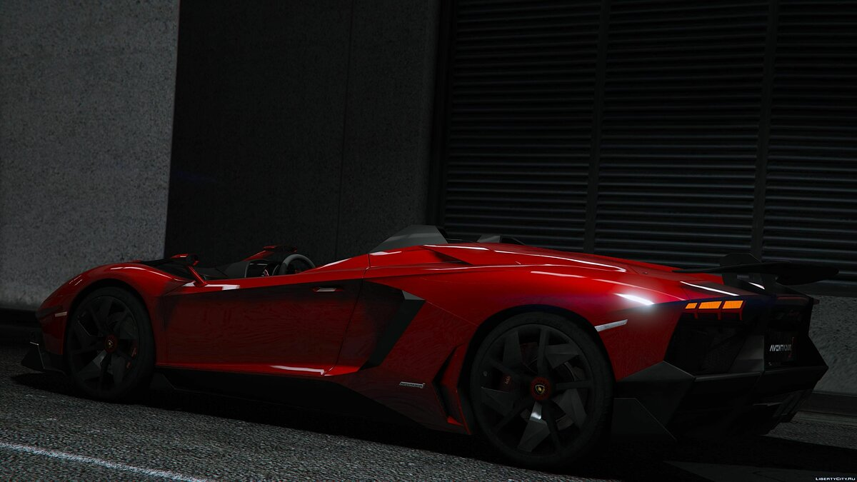 2012 Lamborghini Aventador J Speedster [Add-On] для GTA 5 - скриншот #5