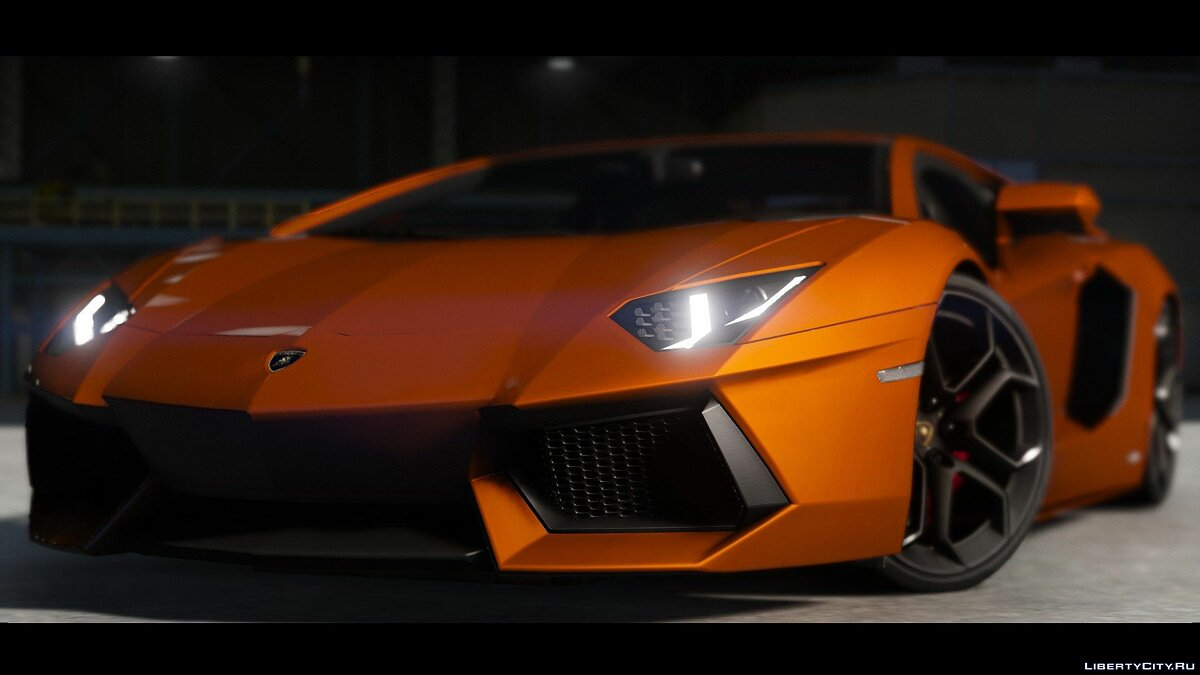 2015 Lamborghini Aventador LP700-4 [Add-On | Wipers | Stock | Animated Engine | Livery | Tuning | AutoSpoiler] 1.4.5 для GTA 5