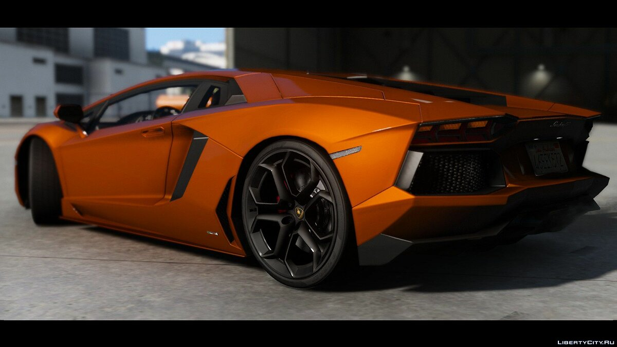 2015 Lamborghini Aventador LP700-4 [Add-On | Wipers | Stock | Animated Engine | Livery | Tuning | AutoSpoiler] 1.4.5 для GTA 5 - скриншот #2