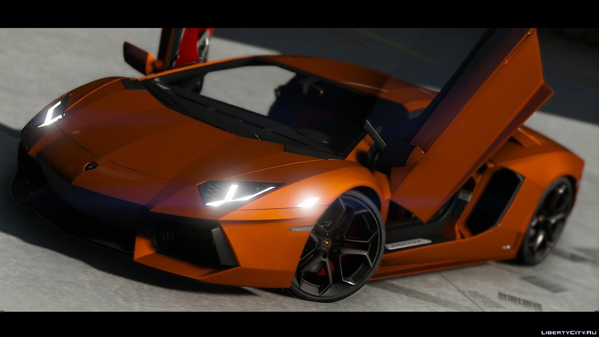 2015 Lamborghini Aventador LP700-4 [Add-On | Wipers | Stock | Animated Engine | Livery | Tuning | AutoSpoiler] 1.4.5 для GTA 5 - скриншот #3