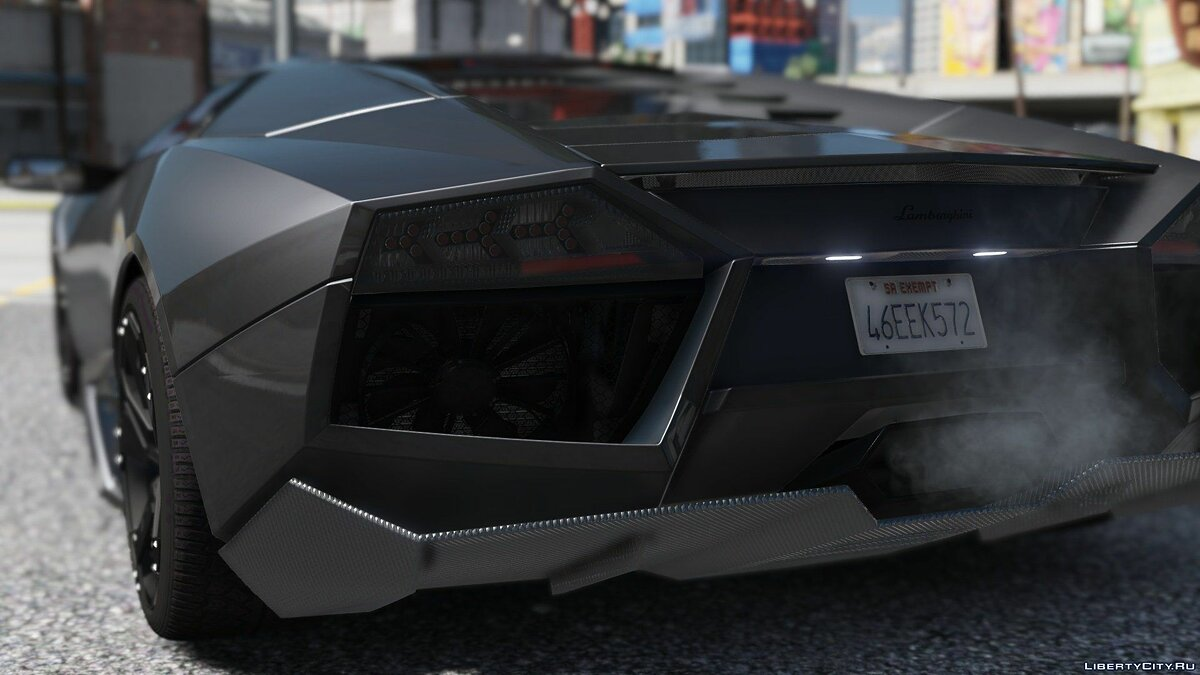 Lamborghini Reventon + Template [Add-On] 4.0 для GTA 5 - скриншот #2