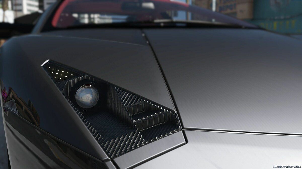 Lamborghini Reventon + Template [Add-On] 4.0 для GTA 5 - скриншот #6