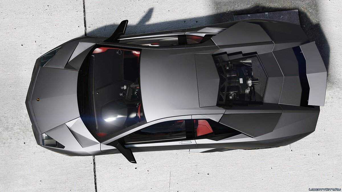 Lamborghini Reventon + Template [Add-On] 4.0 для GTA 5 - скриншот #7