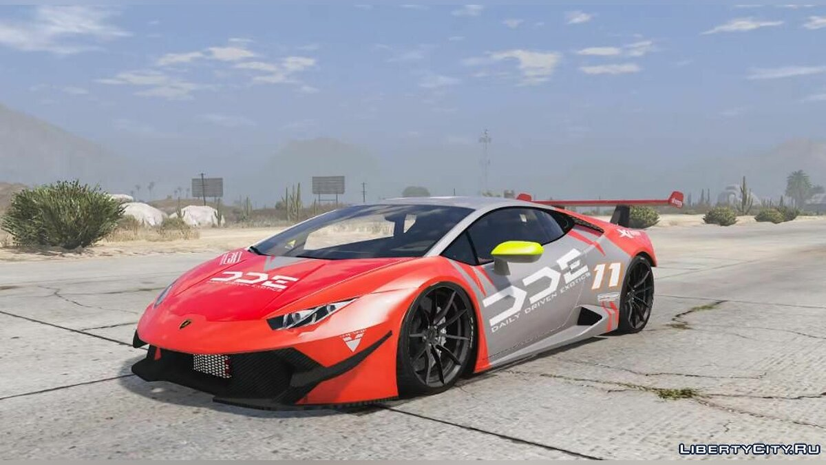 Машина Lamborghini Daily Driven Exotics Lamborghini Huracan [Add-On] 1.0 для GTA 5