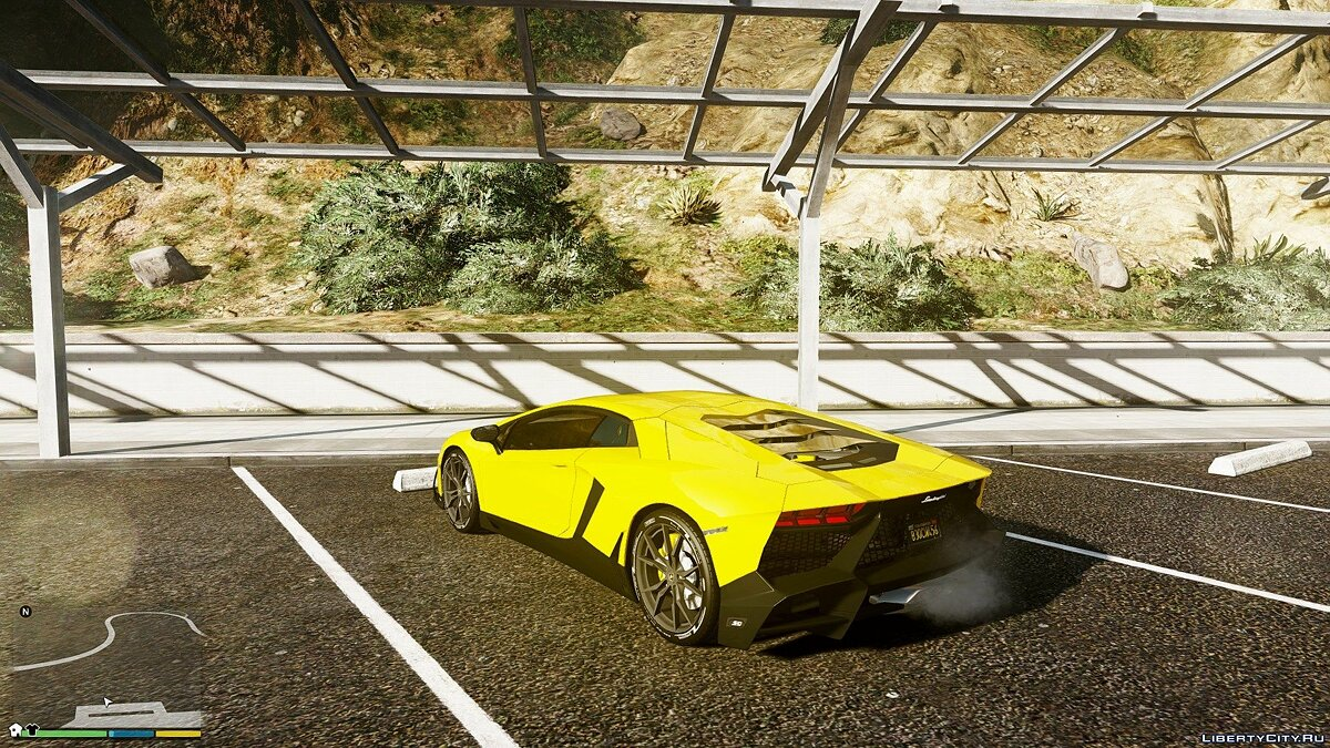 ��ашина Lamborghini 2013 Lamborghini Aventador LP720-4 50th Anniversary [Add-On / Replace | Auto-Spoiler] 3.0 для GTA 5