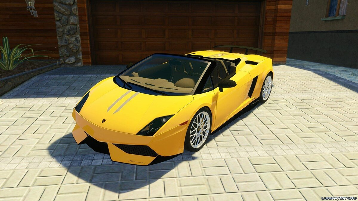 Lamborghini Gallardo LP 550-2 Spyder [HQ] [Tunable] для GTA 5 - скриншот #7