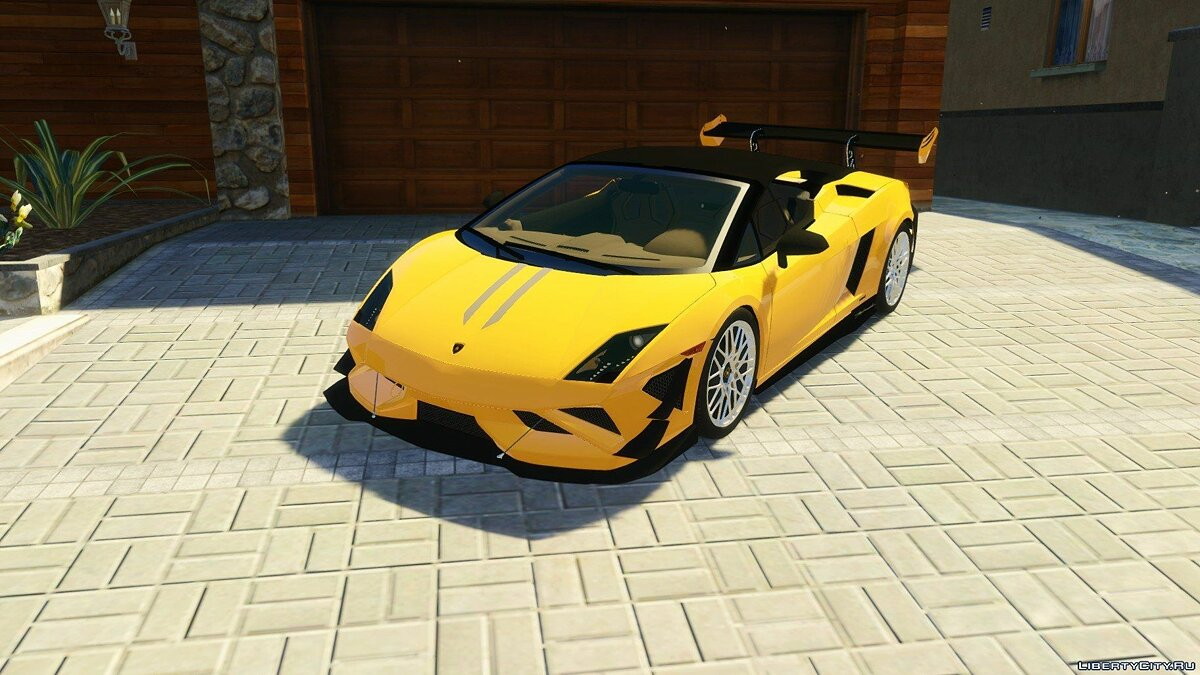 Lamborghini Gallardo LP 550-2 Spyder [HQ] [Tunable] для GTA 5 - скриншот #5