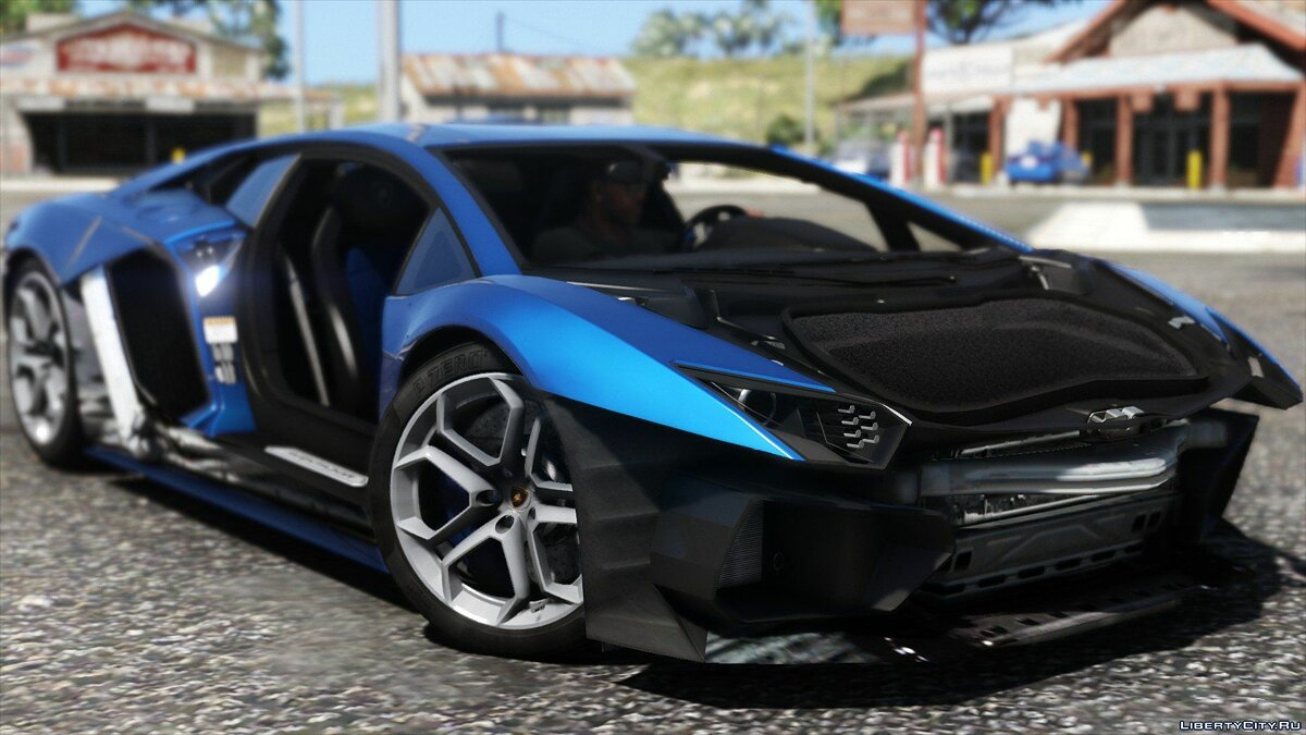 2015 Lamborghini Aventador LP700-4 [Add-On | SV-Kit | Stock | Animated Engine | Tuning] 1.5 для GTA 5 - скриншот #9