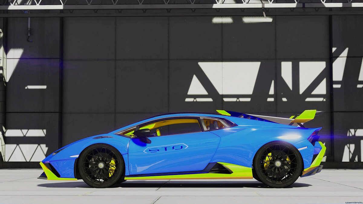 Машина Lamborghini Lamborghini Huracan STO 2021 [Add-On] 1.1 для GTA 5
