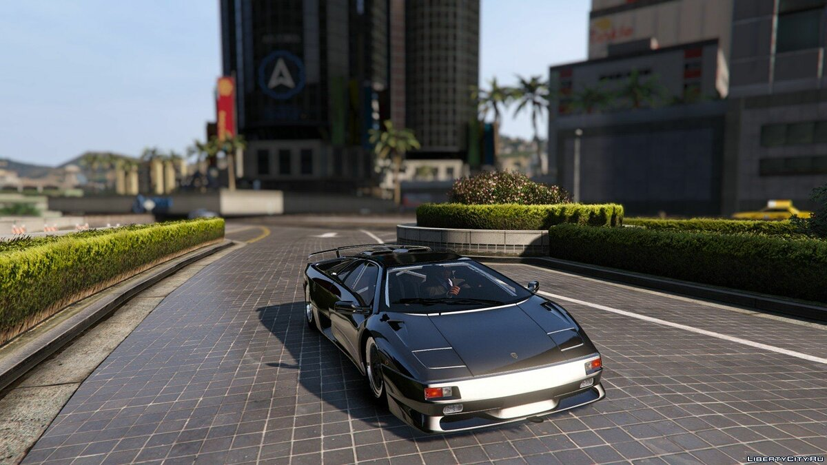 Lamborghini Diablo SV 1997 [Add-On / Replace | Template | Pop-up Lights] 1.1 для GTA 5 - скриншот #5