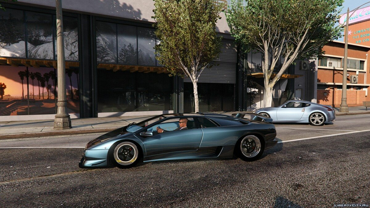 Lamborghini Diablo SV 1997 [Add-On / Replace | Template | Pop-up Lights] 1.1 для GTA 5 - скриншот #7
