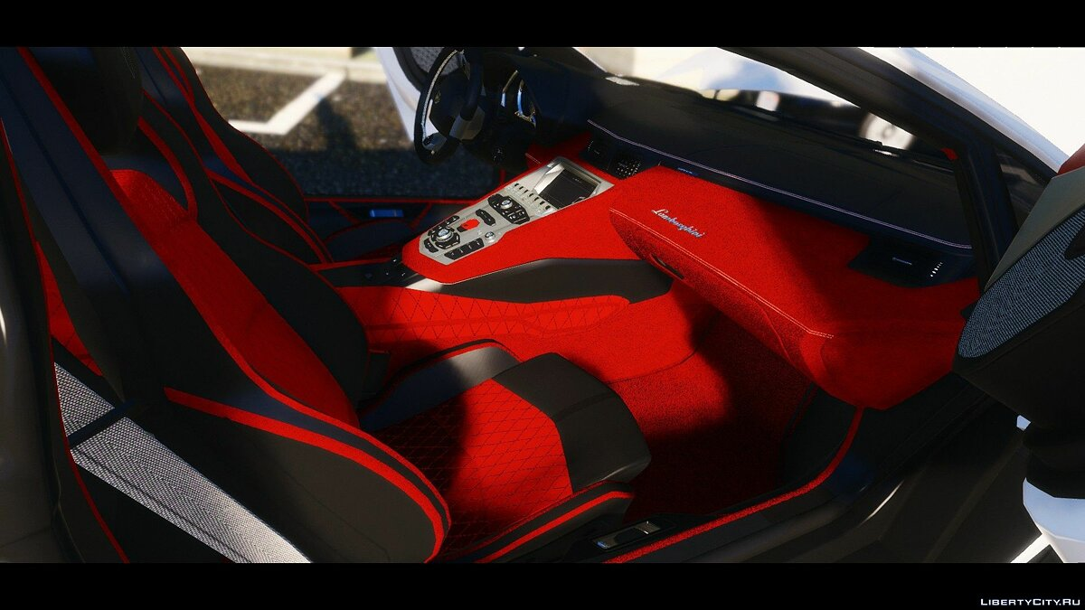 2015 Lamborghini Aventador LP700-4 [Add-On | Wipers | Stock | Animated Engine | Livery | Tuning | AutoSpoiler] 1.1 для GTA 5 - скриншот #5