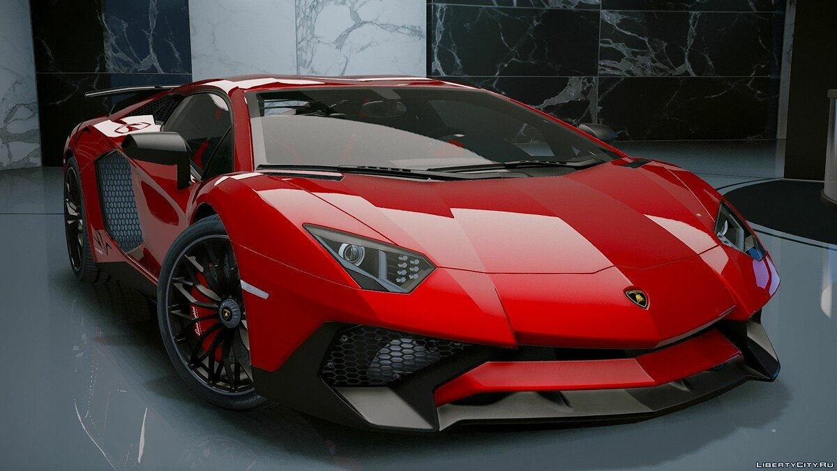 Lamborghini Aventador LP 750-4 SV 2015 [Add-On] 1.2 для GTA 5