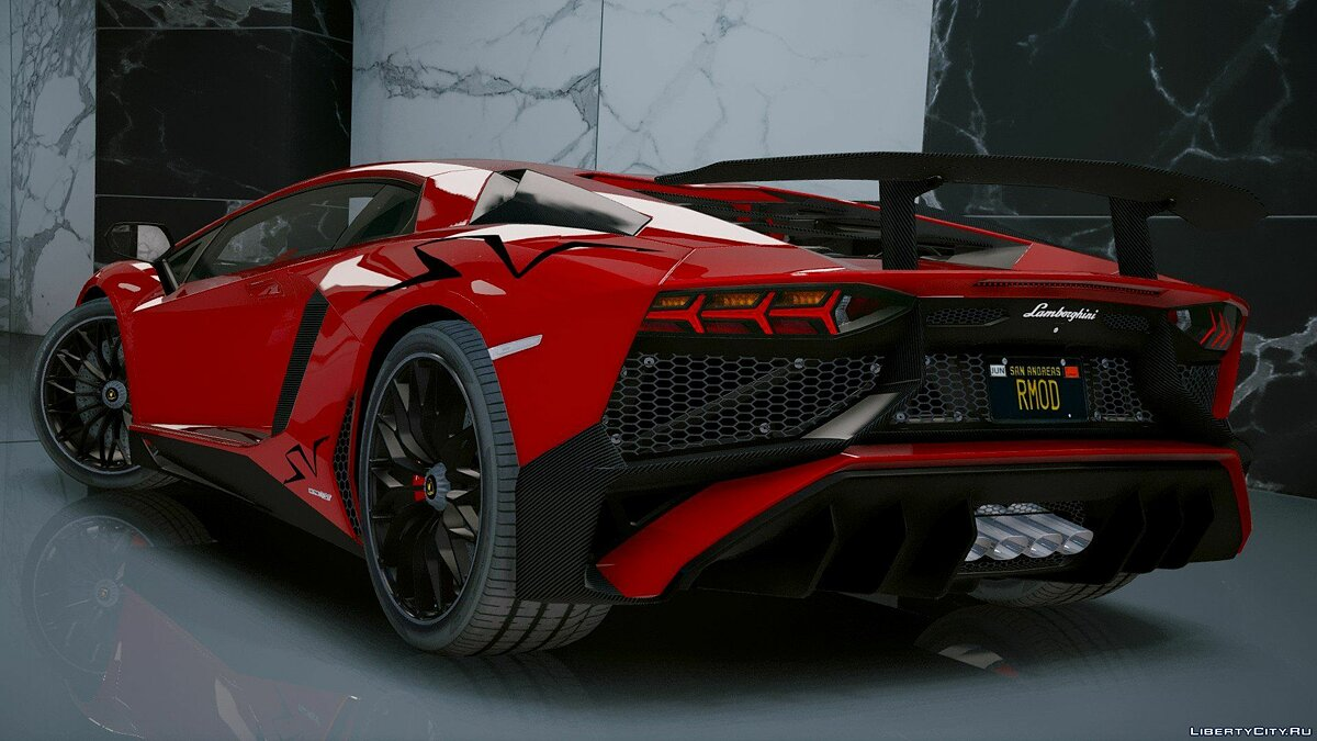 Lamborghini Aventador LP 750-4 SV 2015 [Add-On] 1.2 для GTA 5 - скриншот #3
