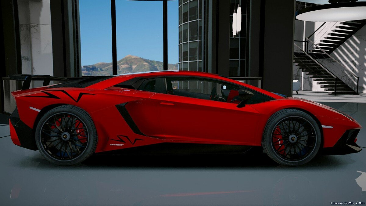 Lamborghini Aventador LP 750-4 SV 2015 [Add-On] 1.2 для GTA 5 - скриншот #4