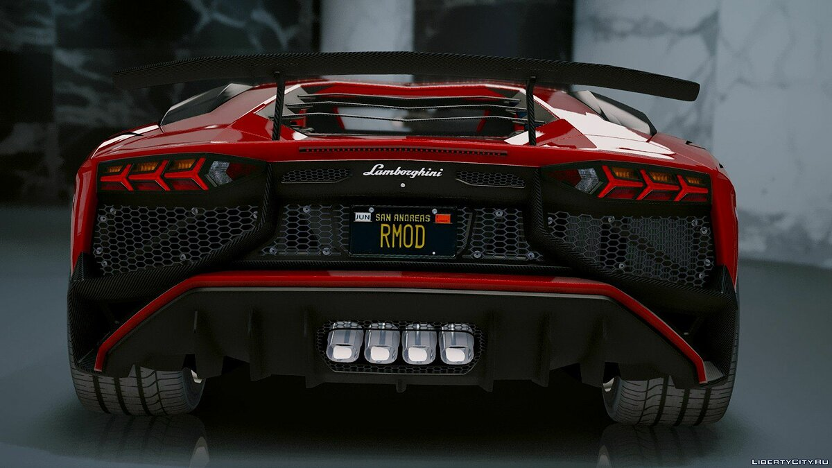 Lamborghini Aventador LP 750-4 SV 2015 [Add-On] 1.2 для GTA 5 - скриншот #9