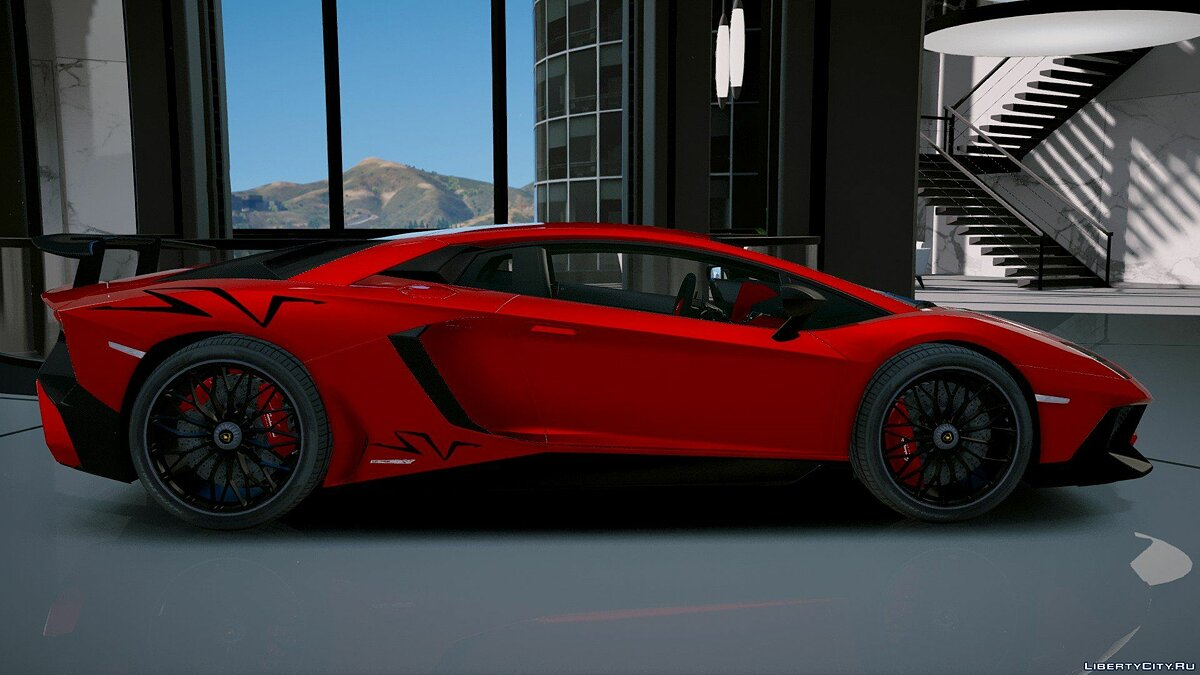 Lamborghini Aventador LP 750-4 SV 2015 [Add-On] 1.2 для GTA 5 - скриншот #10