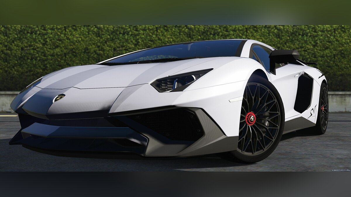 Lamborghini Aventador LP 750-4 SV '15 [Add-On] 1.0 для GTA 5 - скриншот #5
