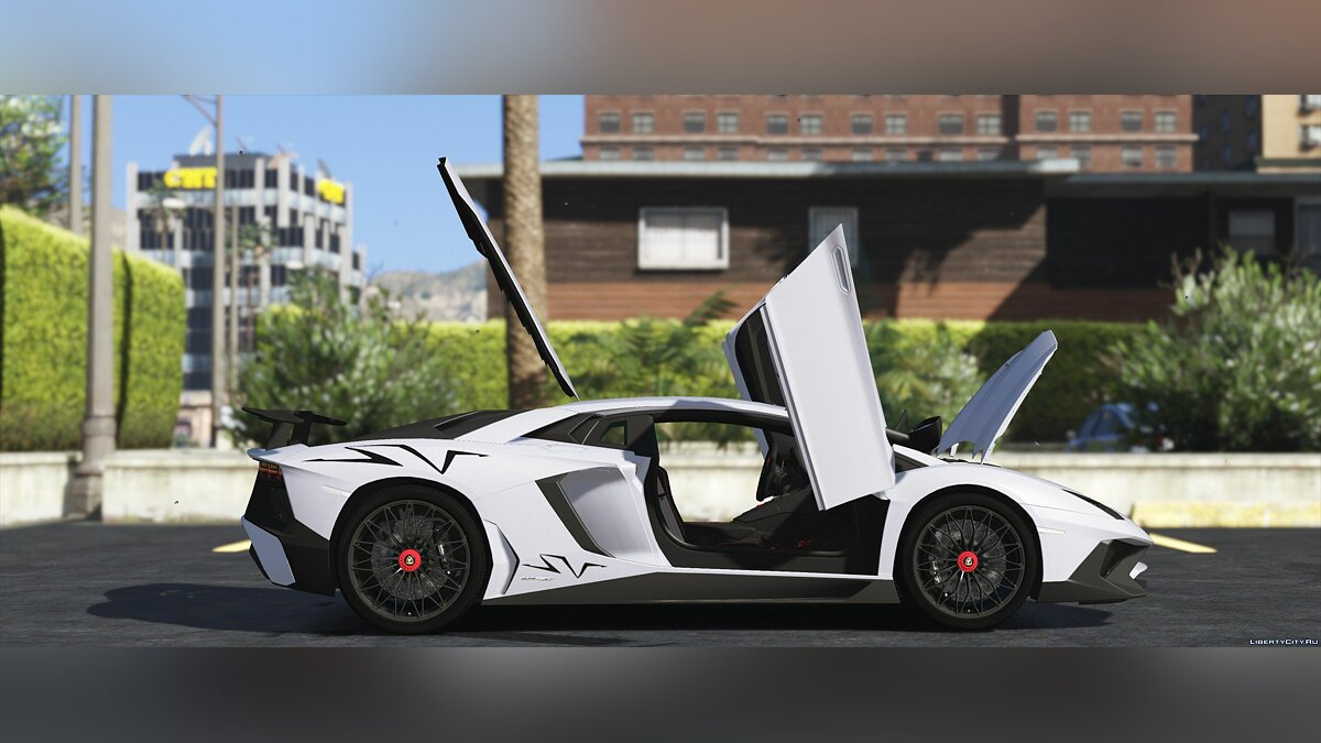 Lamborghini Aventador LP 750-4 SV '15 [Add-On] 1.0 для GTA 5 - скриншот #8