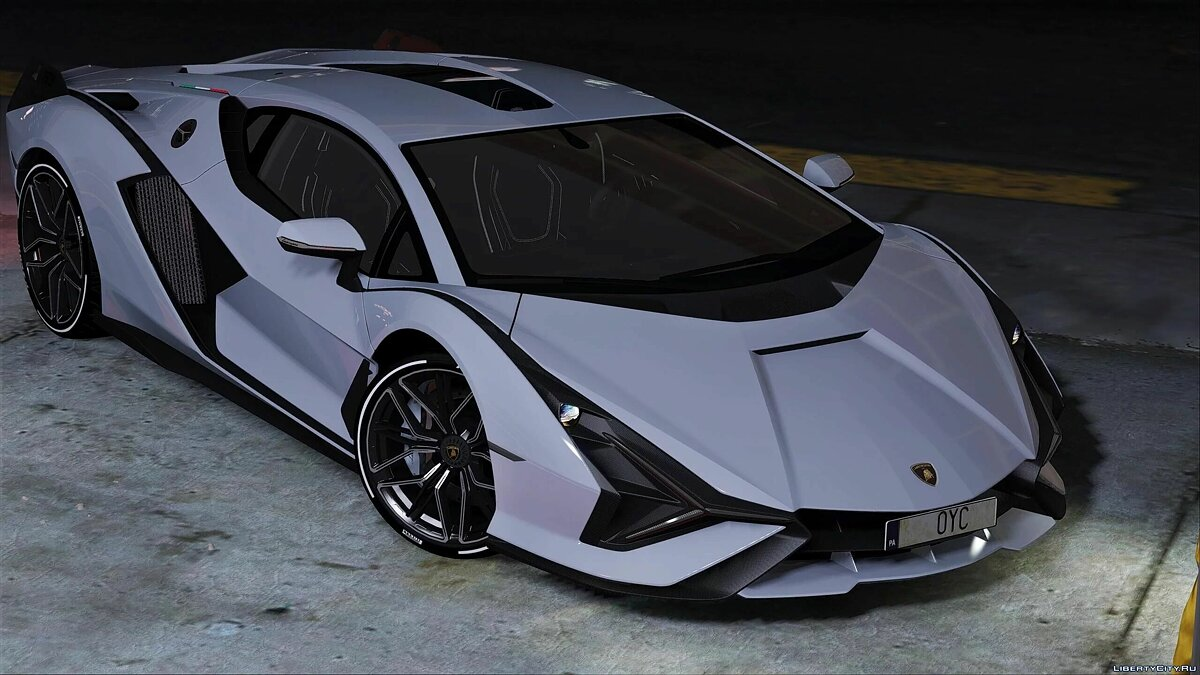 Машина Lamborghini 2020 Lamborghini Sian [Add-On | Air Spoiler] 1.0 для GTA 5