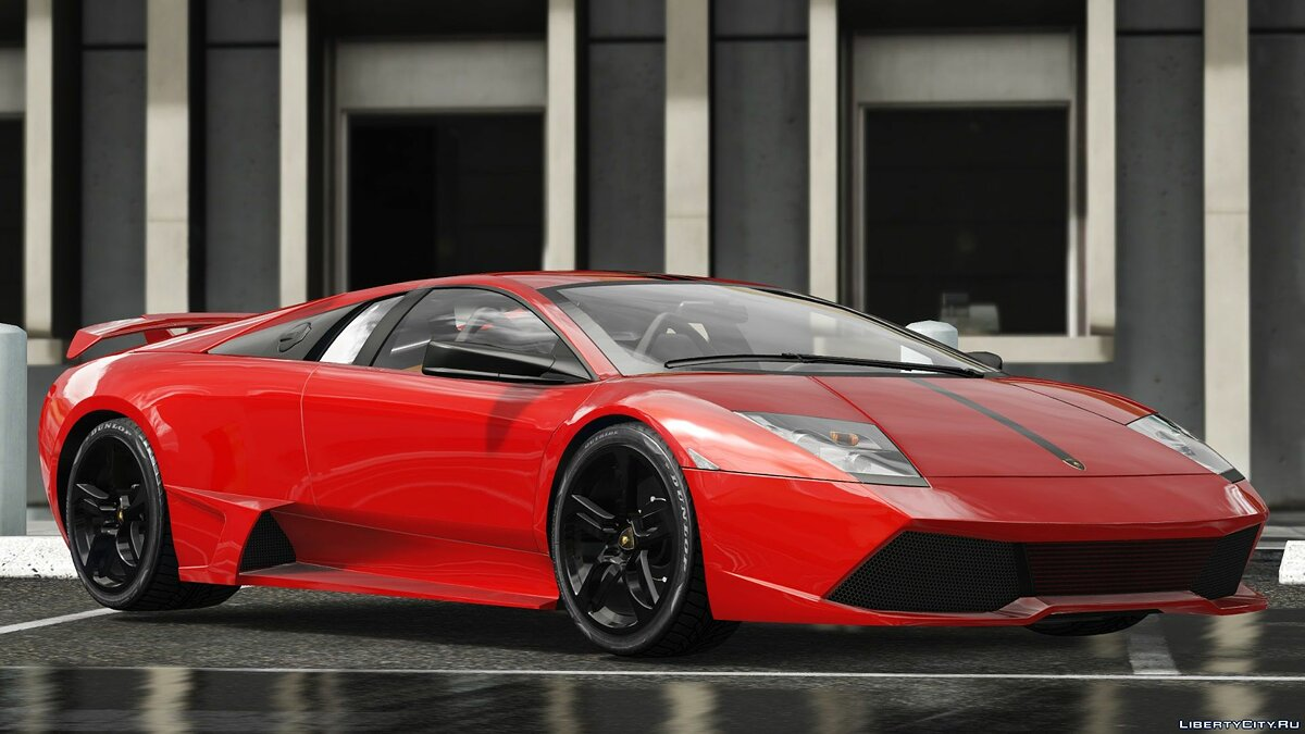 Машина Lamborghini Lamborghini Murcielago LP640 [Add-On | Template] 1.0 для GTA 5