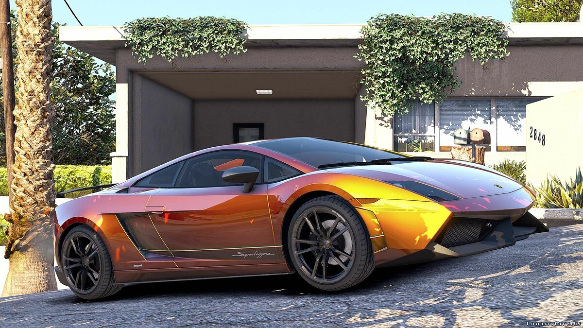Lamborghini Gallardo LP570-4 Superleggera 2011 [Add-On / Replace | Animated | Template] 1.0 для GTA 5