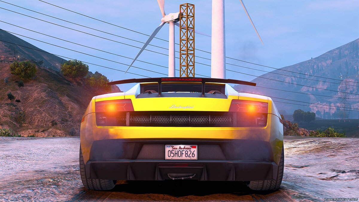 Lamborghini Gallardo LP570-4 Superleggera 2011 [Add-On / Replace | Animated | Template] 1.0 для GTA 5 - скриншот #8