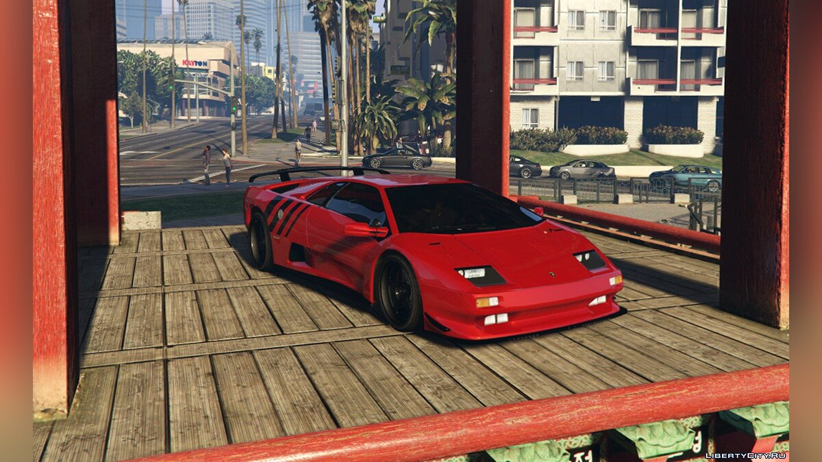 Lamborghini Diablo GTR [Add-On | Tuning | Template] 1.6 для GTA 5 - скриншот #8