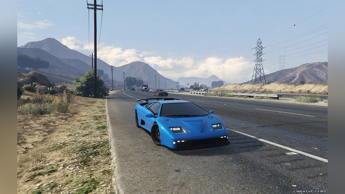 Lamborghini Diablo GTR [Add-On | Tuning | Template] 1.6 для GTA 5 - скриншот #9
