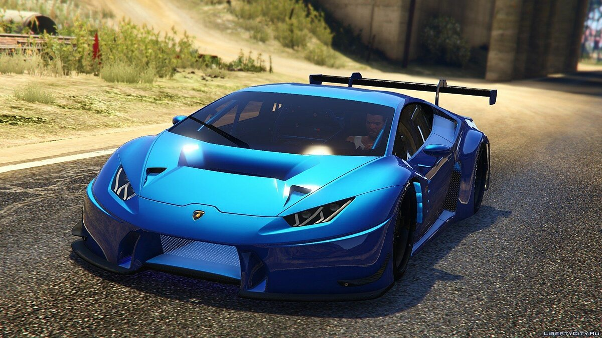 Lamborghini Huracan GT3 [Add-On] 1.1 для GTA 5 - скриншот #2