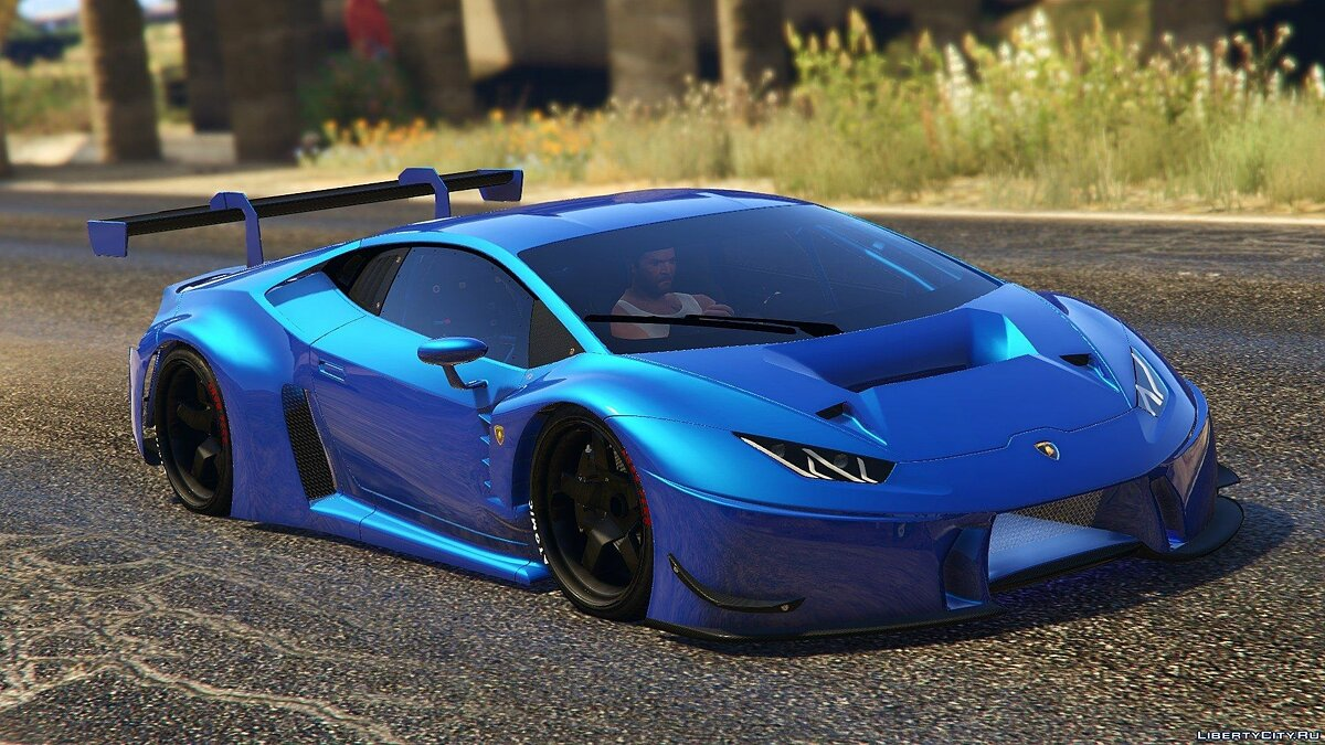 Lamborghini Huracan GT3 [Add-On] 1.1 для GTA 5 - скриншот #7