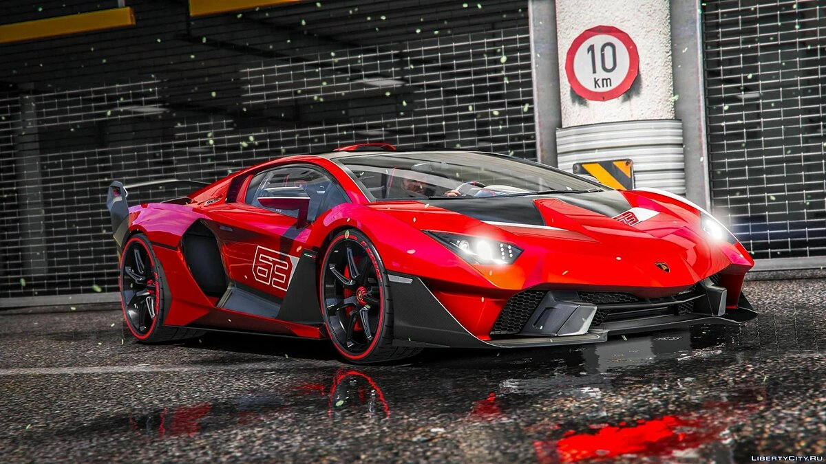 Машина Lamborghini Lamborghini SC18 Alston 2019 [Add-On] 1.0 для GTA 5