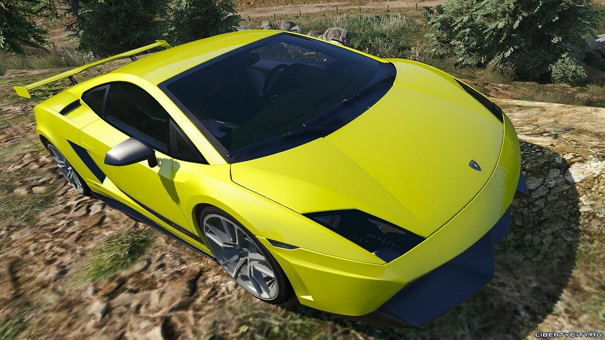 Lamborghini Gallardo LP570-4 Superleggera (2011) для GTA 5