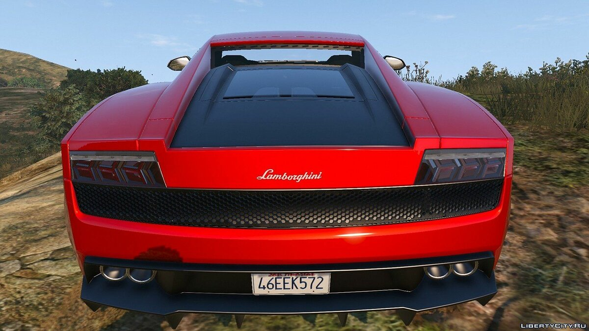 Lamborghini Gallardo LP570-4 Superleggera (2011) для GTA 5 - скриншот #5