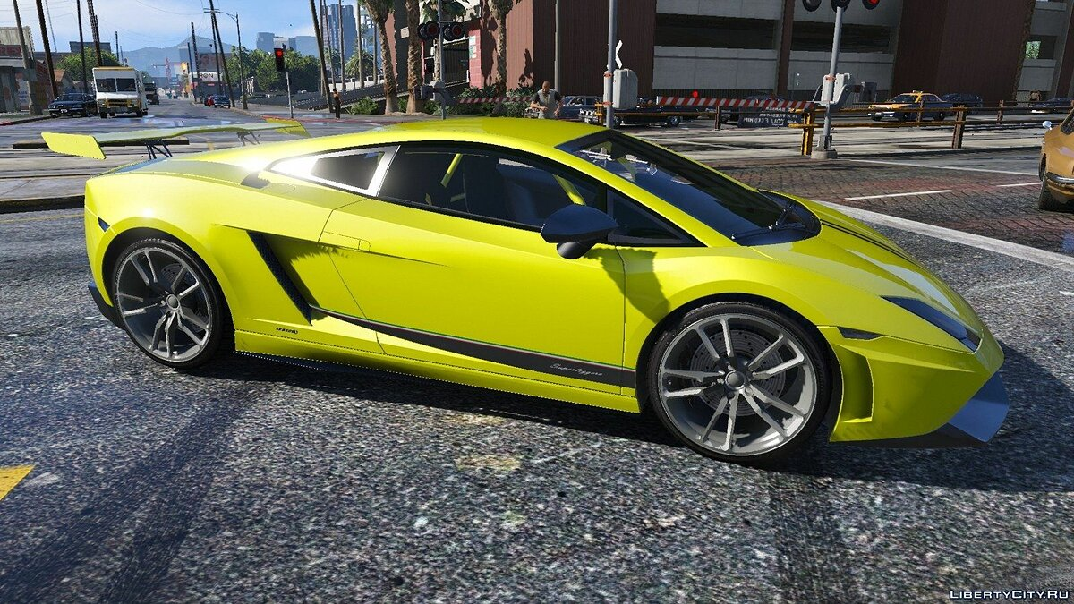 Lamborghini Gallardo LP570-4 Superleggera (2011) для GTA 5 - скриншот #6