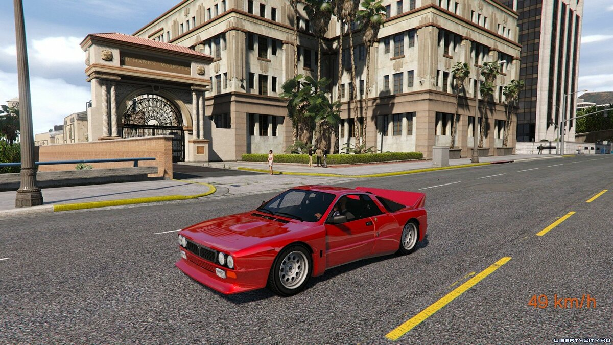 ��ашина Lancia 1982 Lancia 037 Stradale [Add-On] 1.0 для GTA 5