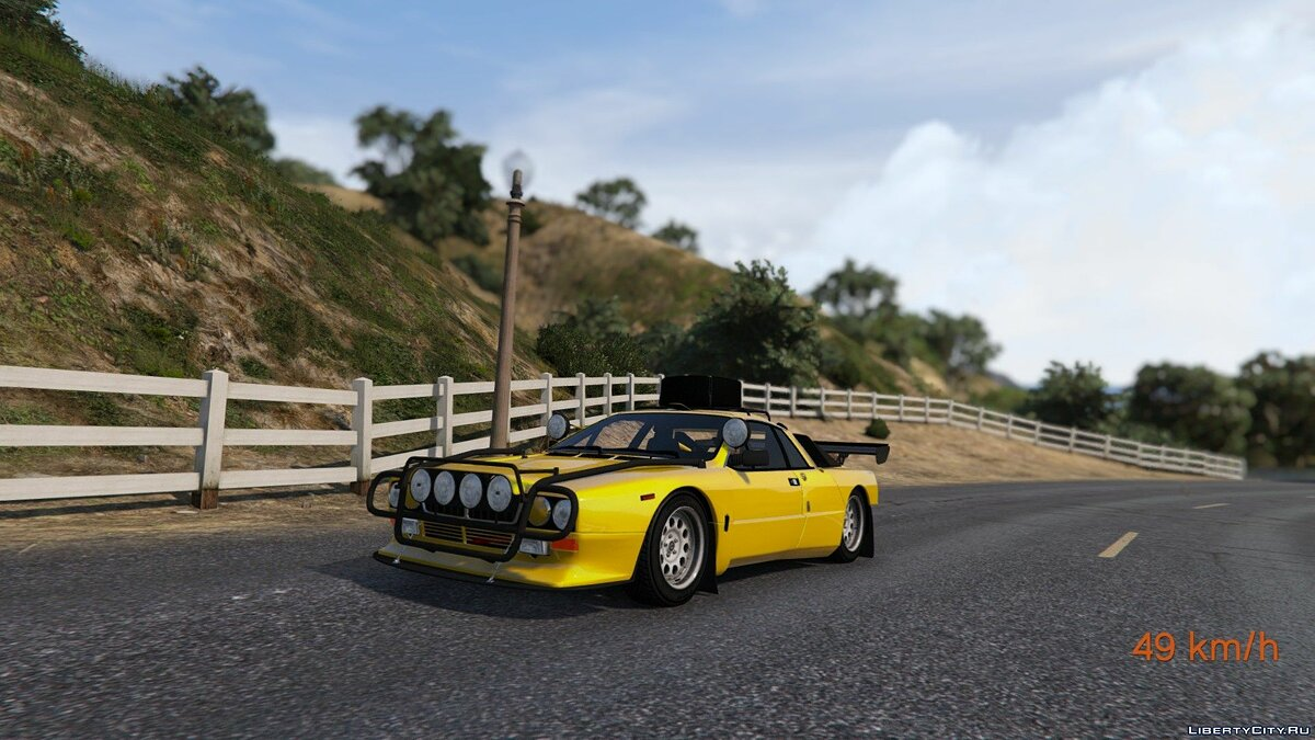 1982 Lancia 037 Stradale [Add-On] 1.0 для GTA 5 - скриншот #7