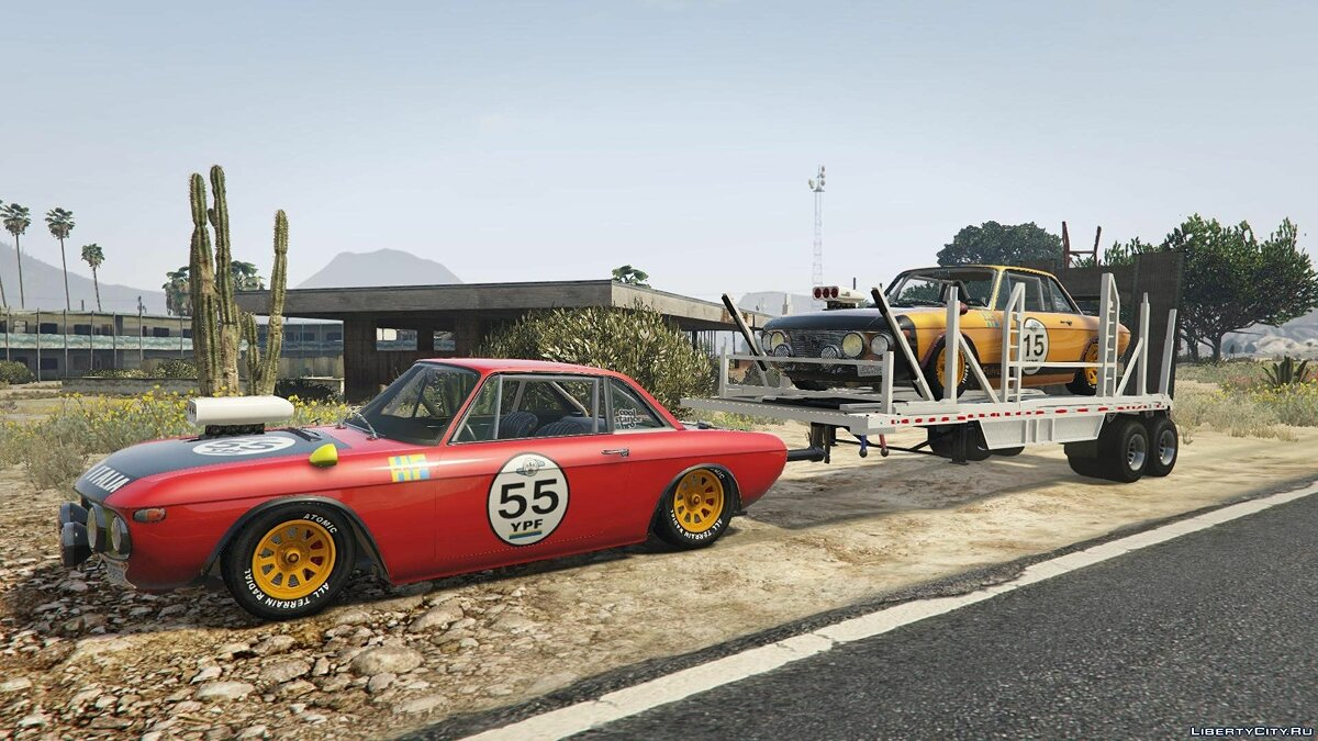 Машина Lancia Lancia Fulvia HF Transport [Add-On / Replace] для GTA 5