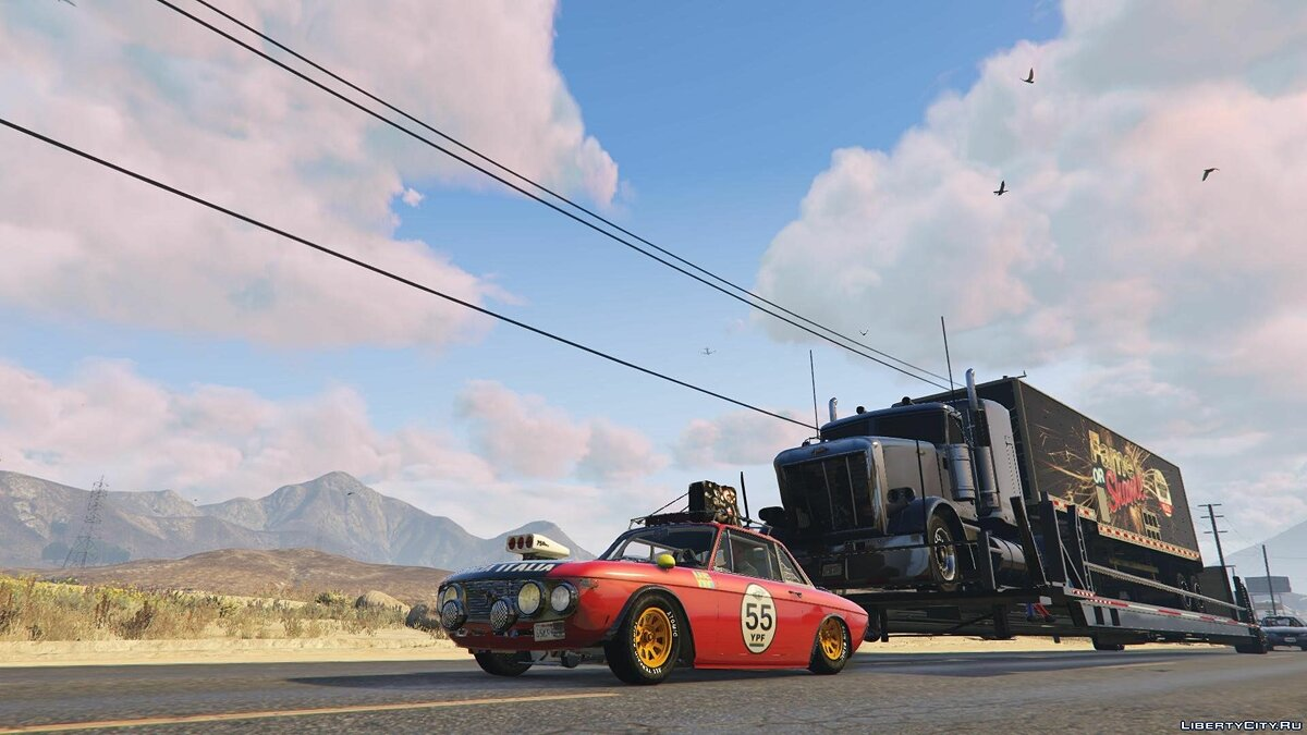 ��ашина Lancia Lancia Fulvia HF Transport [Add-On / Replace] для GTA 5