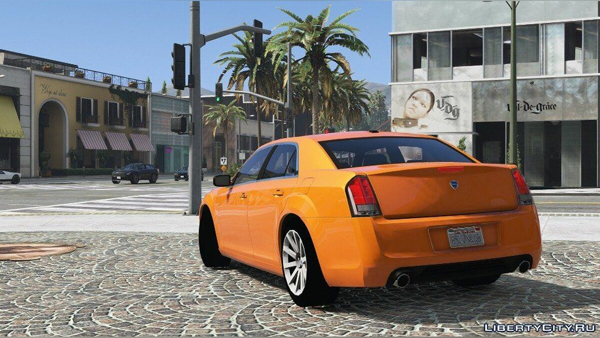 Машина Lancia Lancia Thema (Add-on / Replace) 1.0 для GTA 5