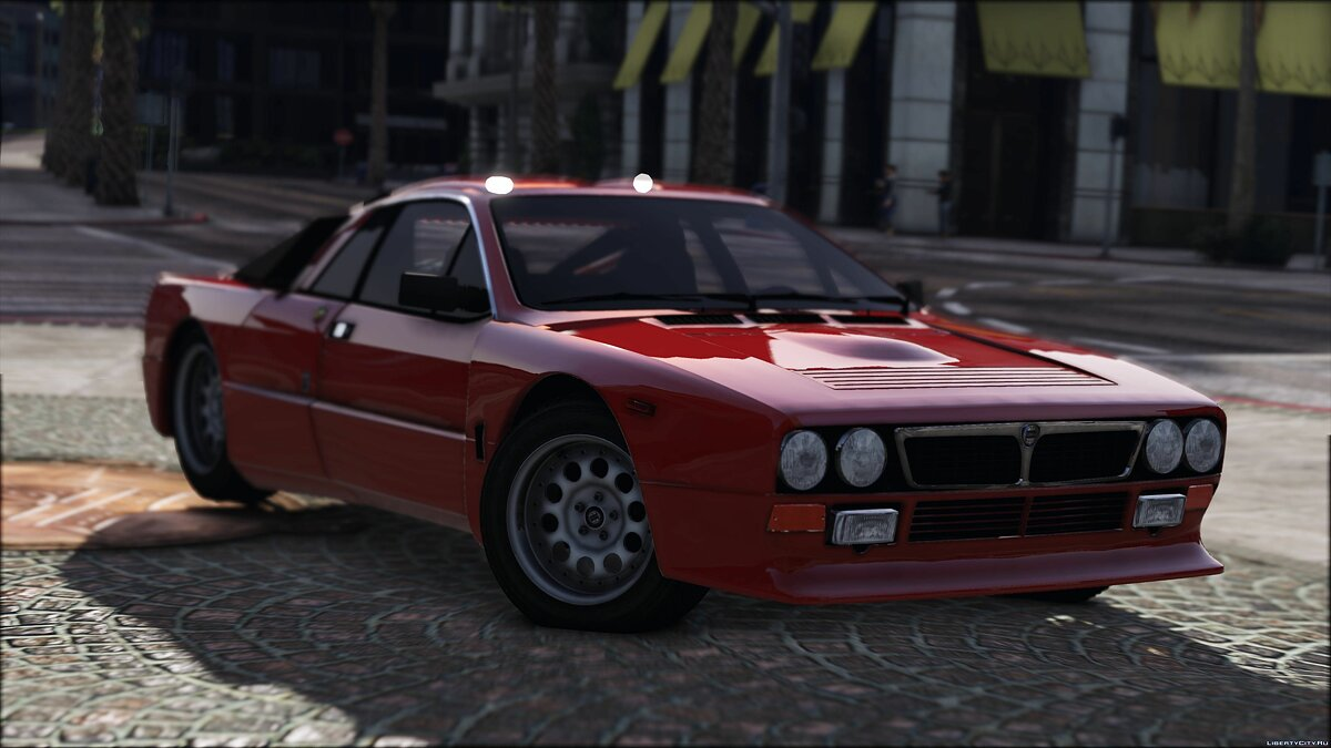 ��ашина Lancia 1982 Lancia 037 Stradale [Add-On] 1.1 для GTA 5