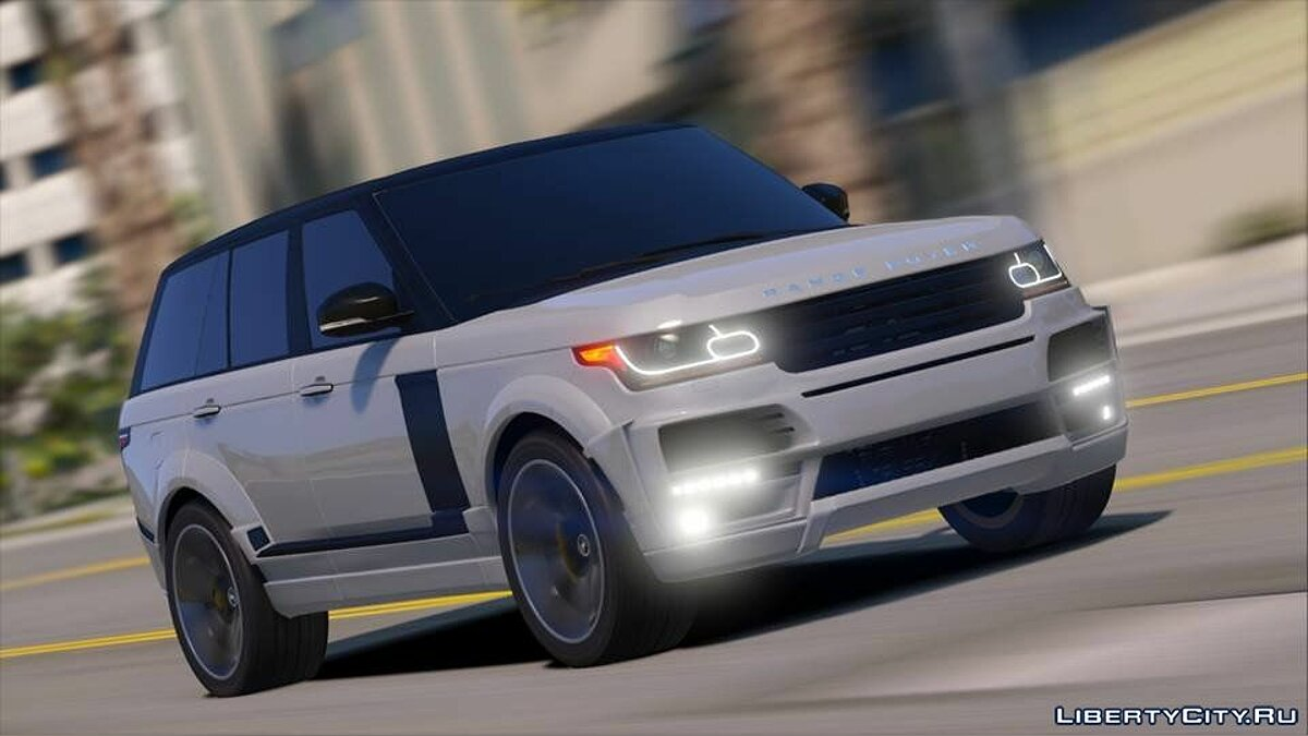 ��ашина Land Rover Range Rover Vogue StarTech L405 [Templated / Digital / Annimated / AddOn] 1.0 для GTA 5