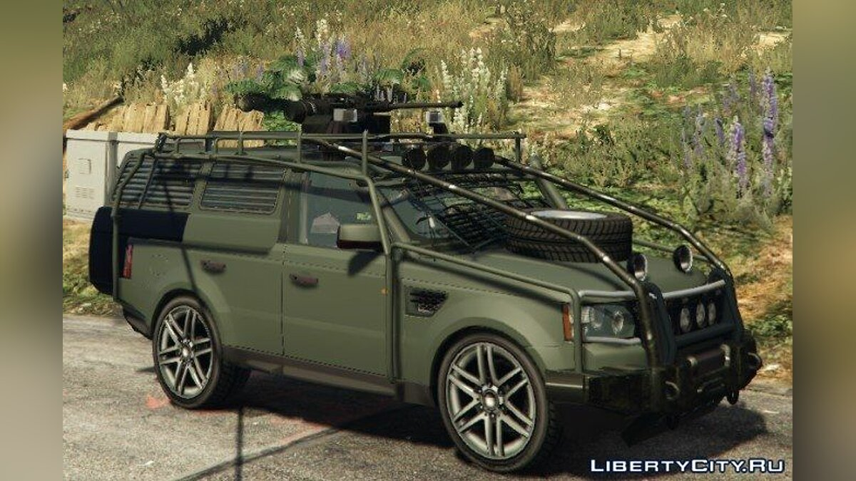Range Rover Sport Military/Police Assault Vehicle 2.0 для GTA 5