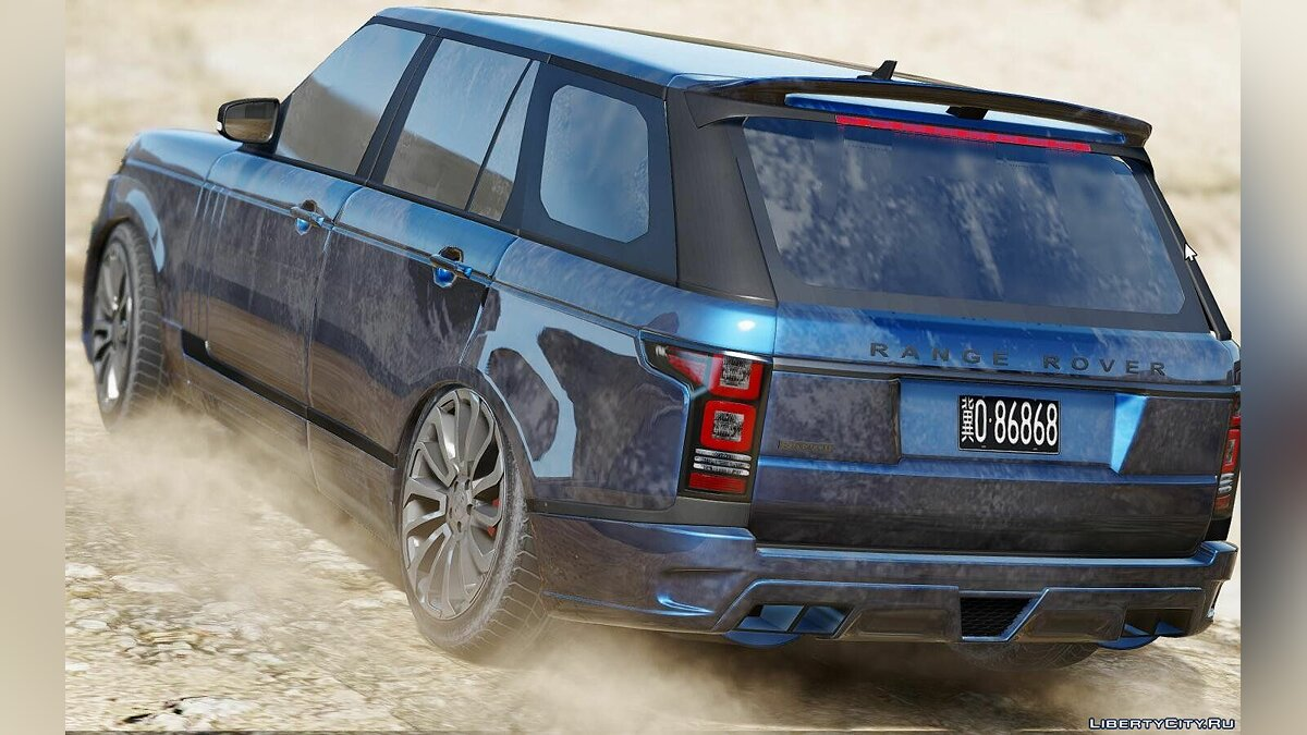 Land Rover Range Rover Startech [Add-On / Replace] 1.1 для GTA 5 - скриншот #2
