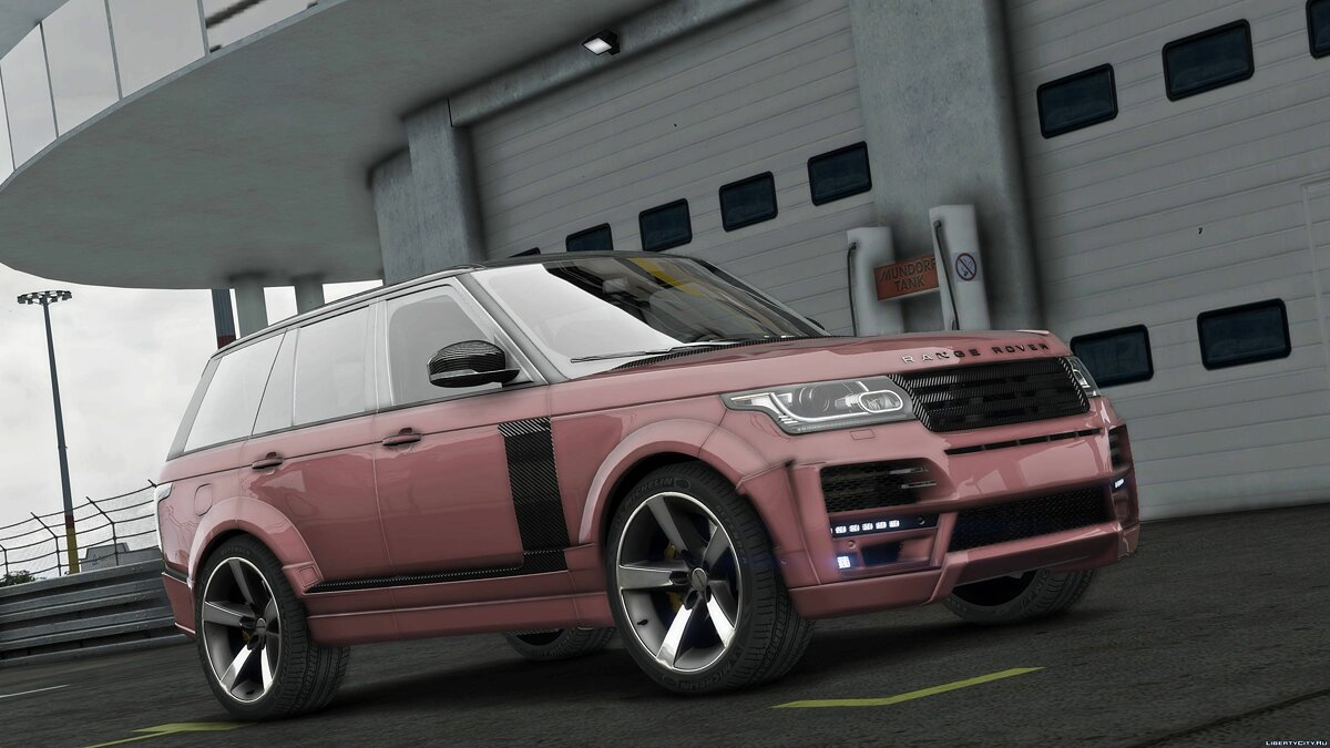Машина Land Rover Land Rover Range Rover Startech [Add-On] 1.0 для GTA 5