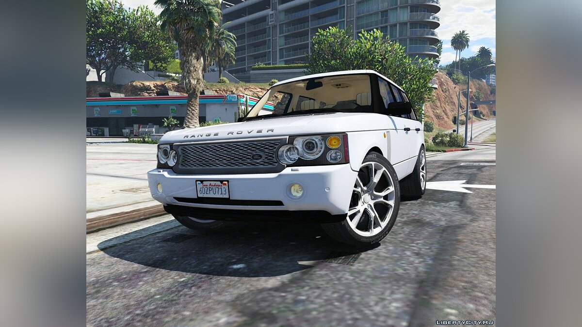 2010 Range Rover Supercharged [Add-On / Replace | Tuning] 2.2 для GTA 5